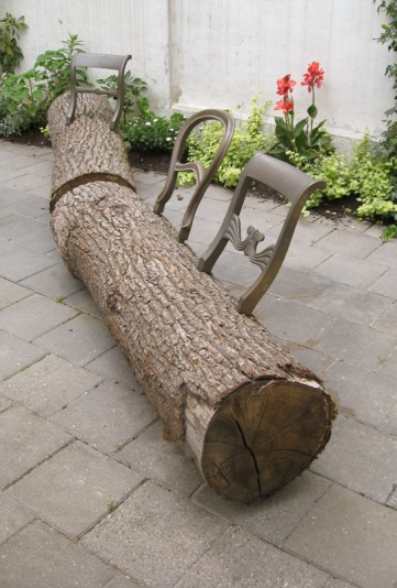 Tree-Trunk Bench 1