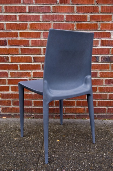 charcoal bellini chair stoolsampler