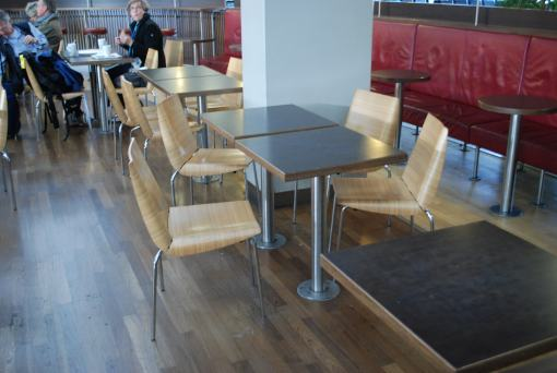 Schiphol Airport Cafe Chairs