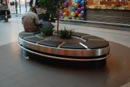 Schiphol Airport Oval Bench