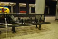 Schiphol Station Bench 1