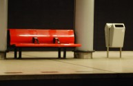 Schiphol Station Bench 2