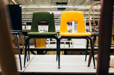 Plastic School Chair-9844