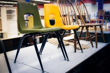 Plastic School Chair-9849