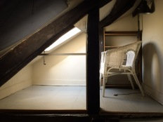 My attic spot in Saint Germain des Pres